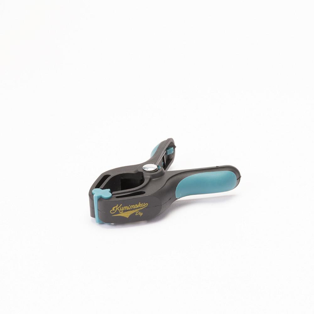 ナイロンスプリングクランプ 小 KM-NK02BL