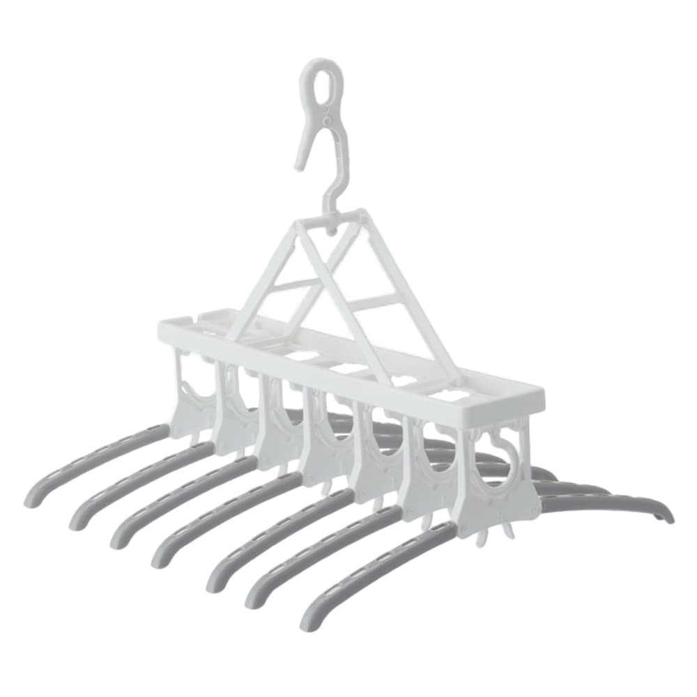 ワンタッチ7連スライドハンガー