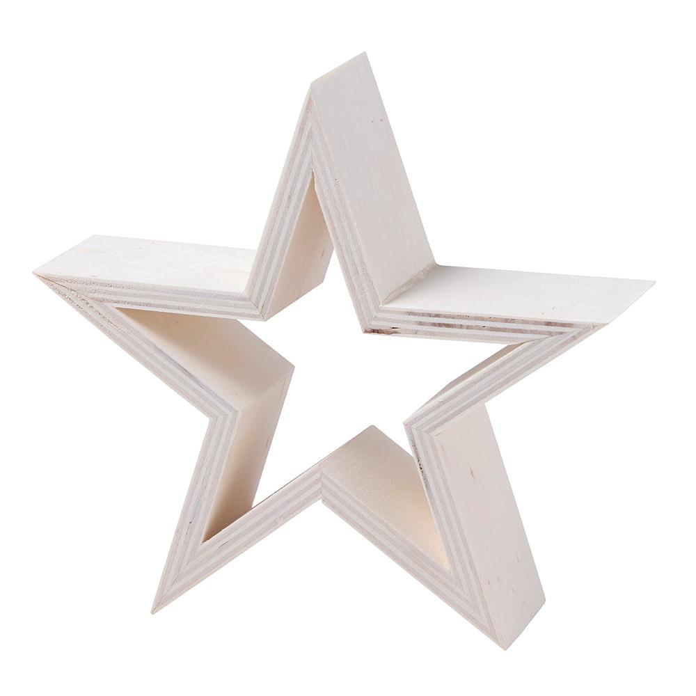 【trv・数量限定】木製スター オープン S
