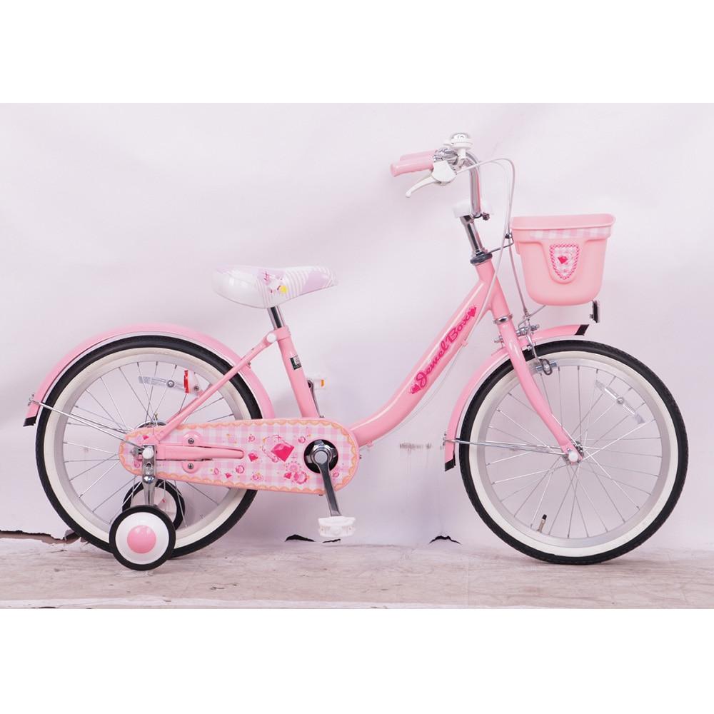 【自転車】【全国配送】幼児車 Jewel Box�X 16インチ ピンク【別送品】