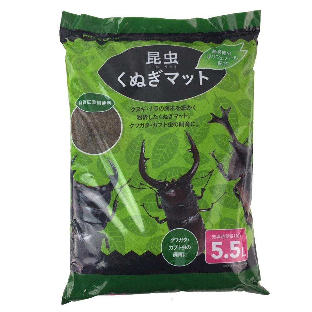 【店舗限定】昆虫くぬぎマット 5.5L 消臭成分入り