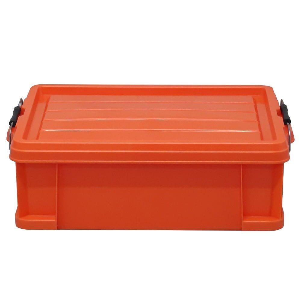 KUROCKER'S 丈夫で軽いふた付きコンテナ #13 オレンジ