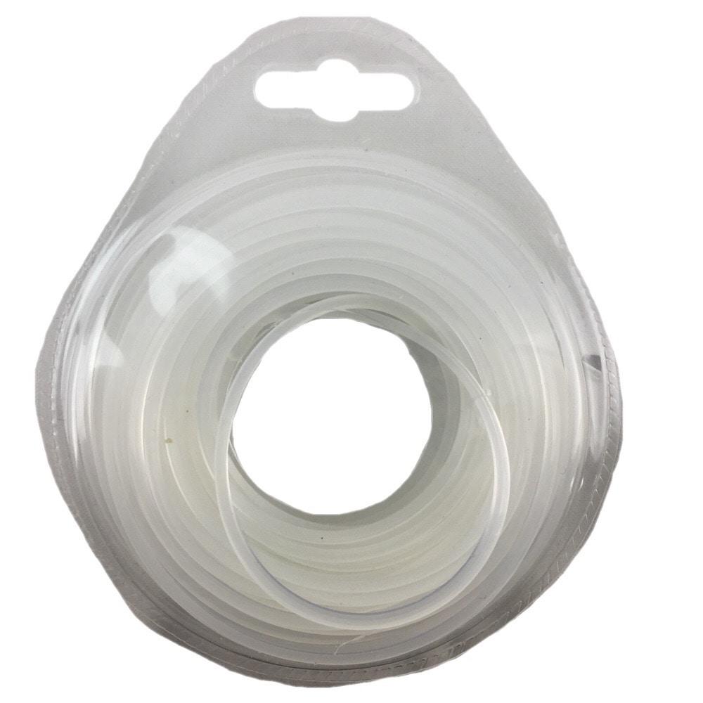 ナイロンコード 2.2mmx12m 角 白