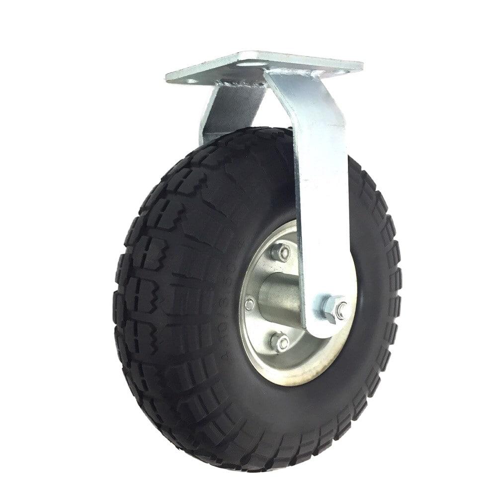 PUノーパンクタイヤ26cm 固定キャスター