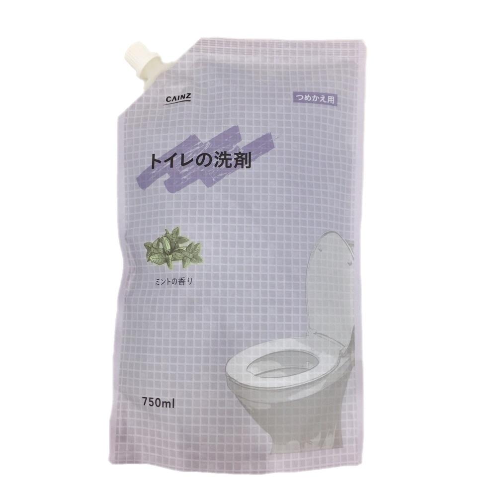 CAINZ トイレの洗剤 つめかえ用 750ml