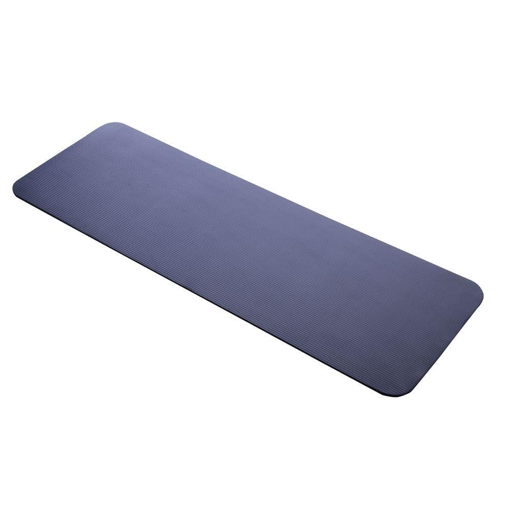 極厚ヨガマット 厚さ10mm 61×175cm ミッドナイトブルー