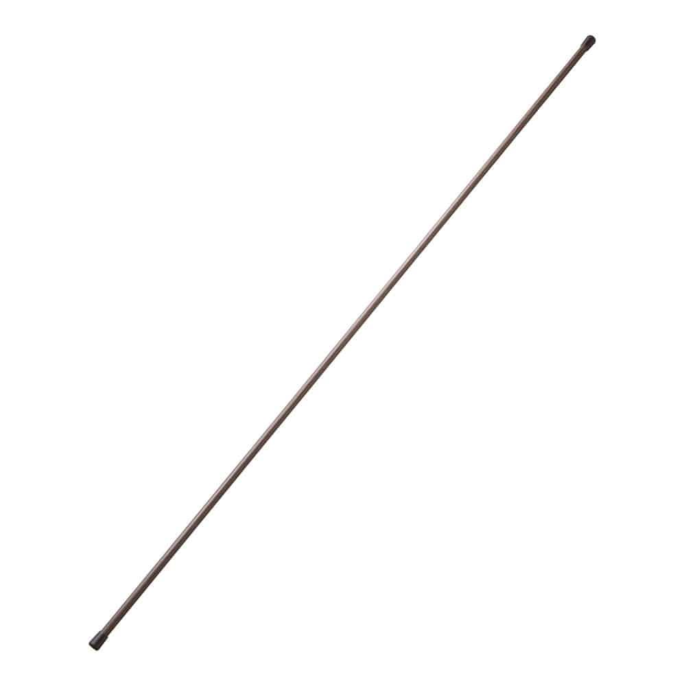 のれん棒 100cm ダークブラウン
