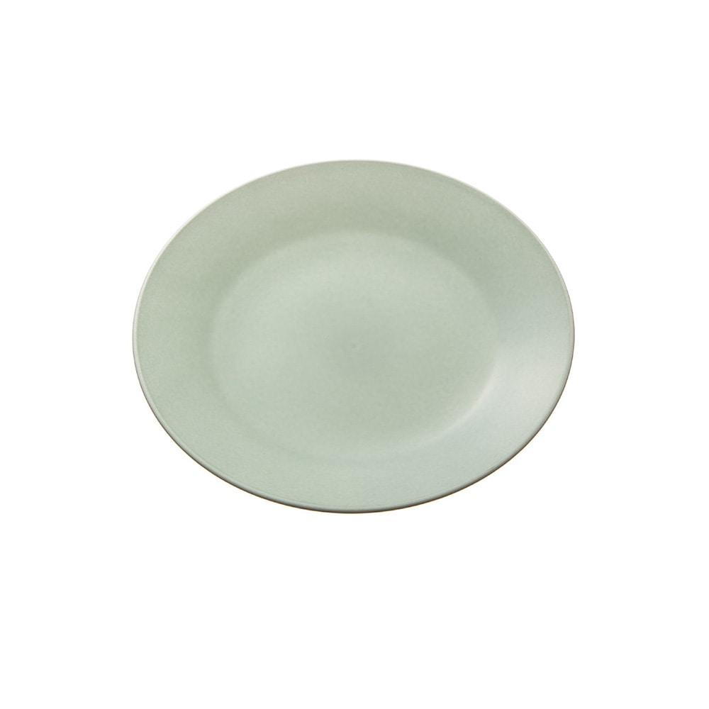 レンジで使える HAJIKU DRY+ 丸皿13cm 青磁色