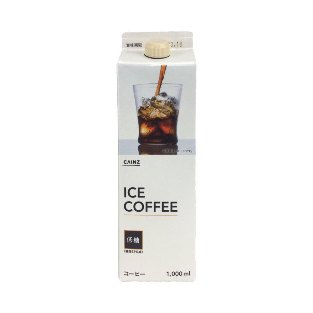 【ケース販売】アイスコーヒー 低糖 1000ml×6本