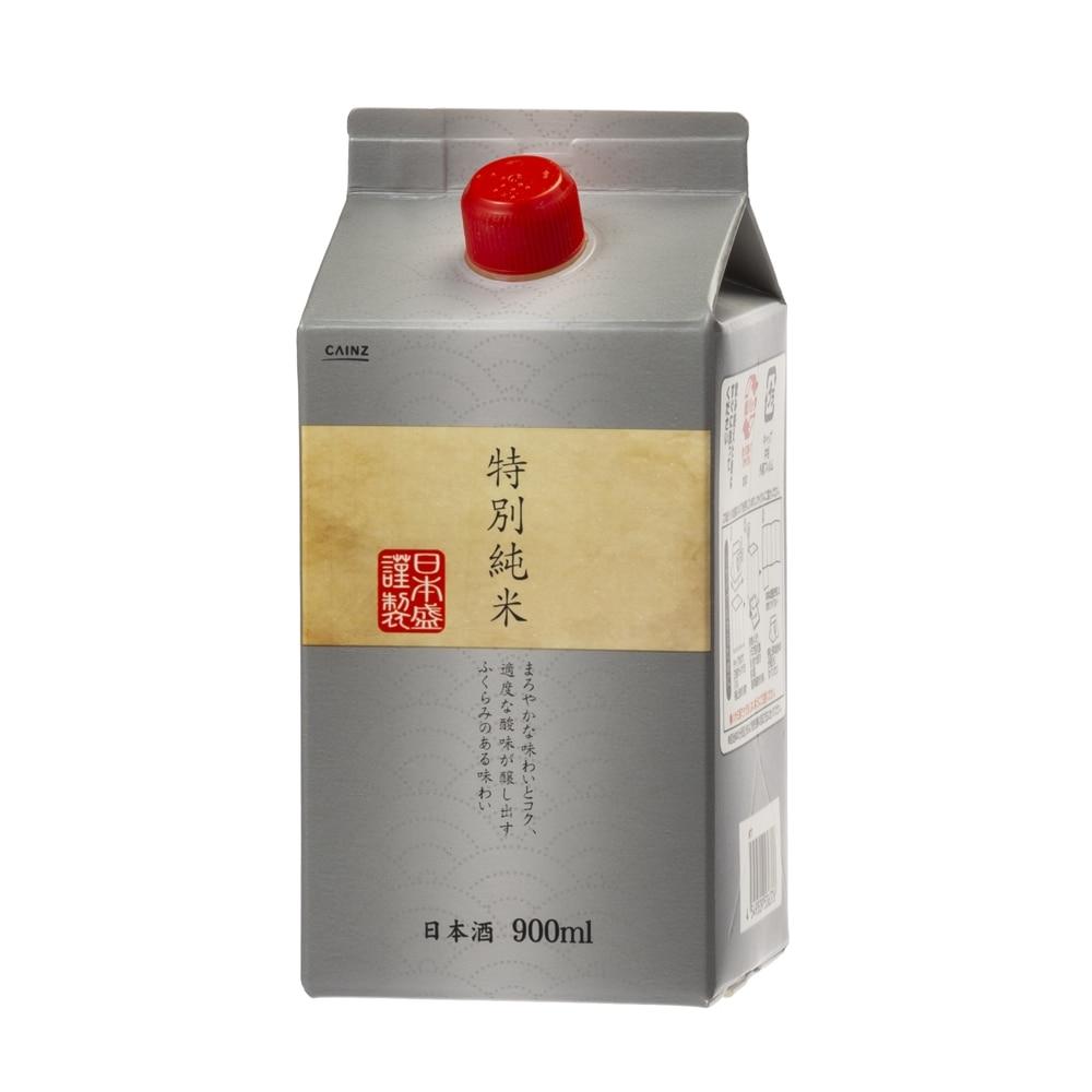 CAINZ 日本酒 特別純米 パック 900ml