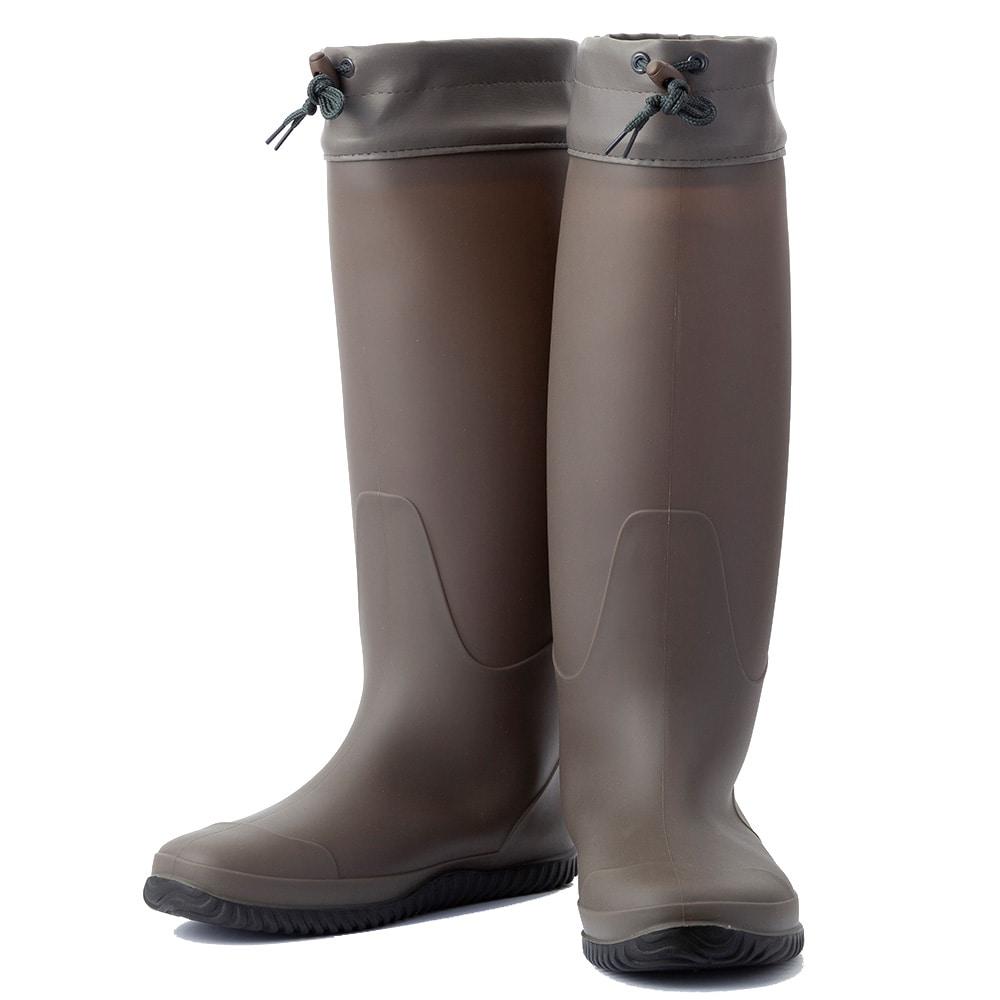 折りたたみカバー付き長靴 L(L): 作業着・作業服・安全靴 ...