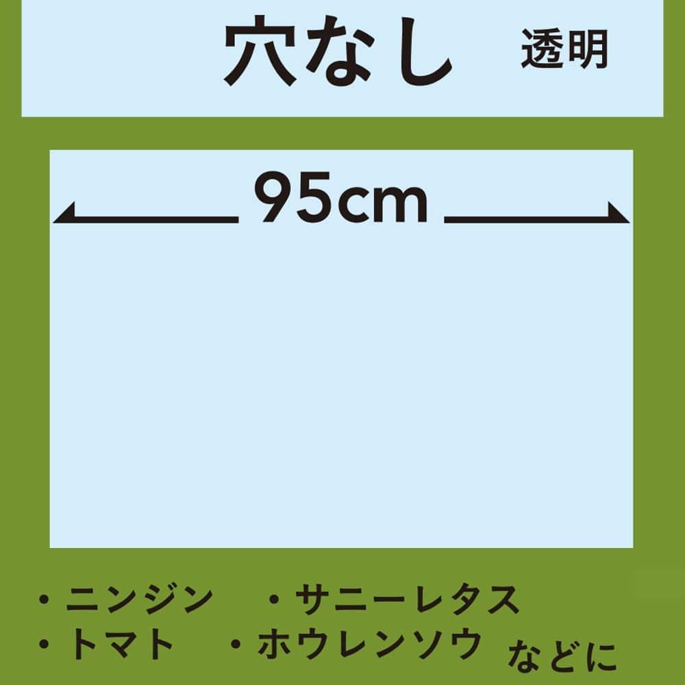 菜園マルチ 透明 0.02×95×50m