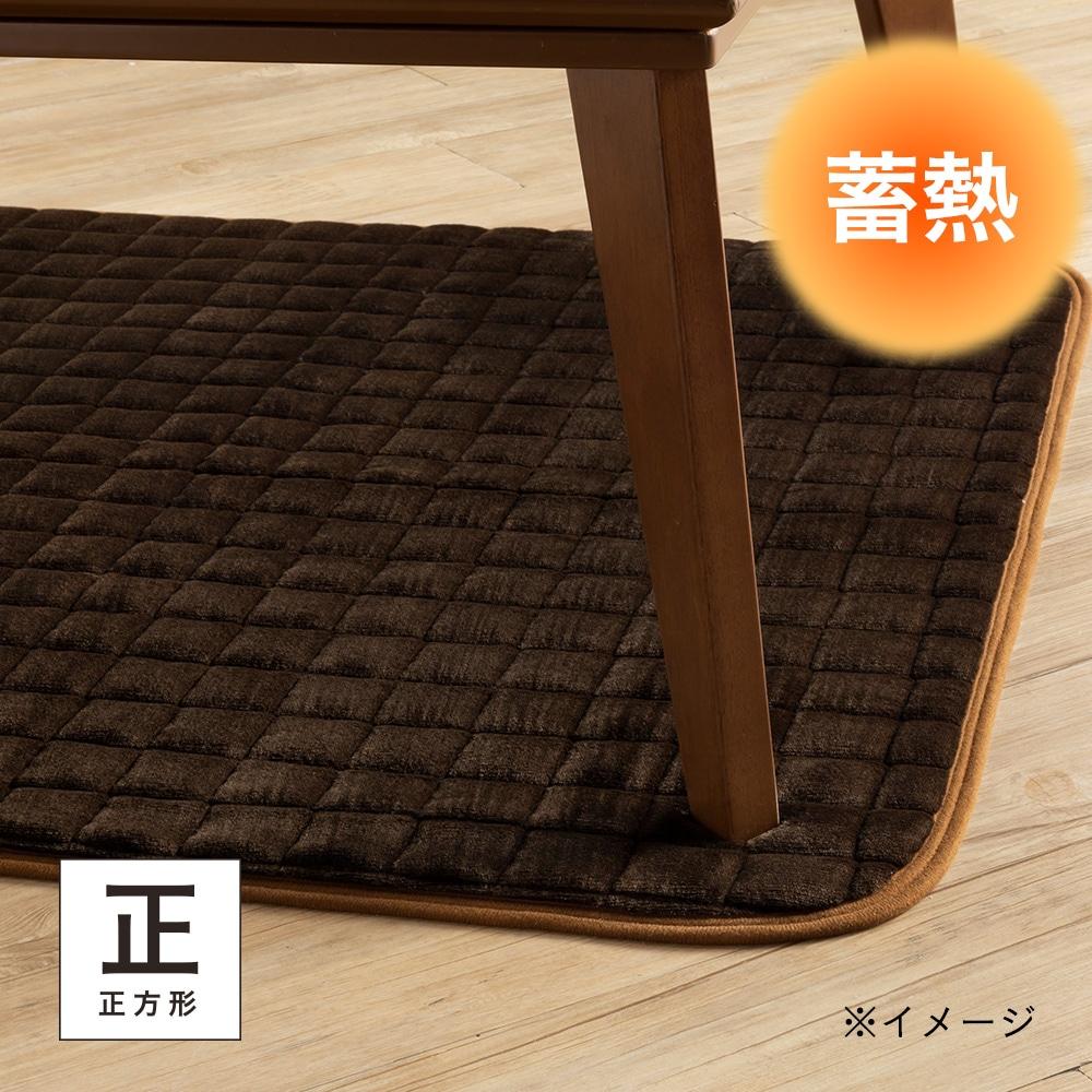 蓄熱こたつ敷きパッド タンネ&Pet 正方形 95×95