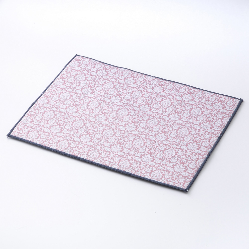【2020春夏】抗菌 水切りマット ピンク