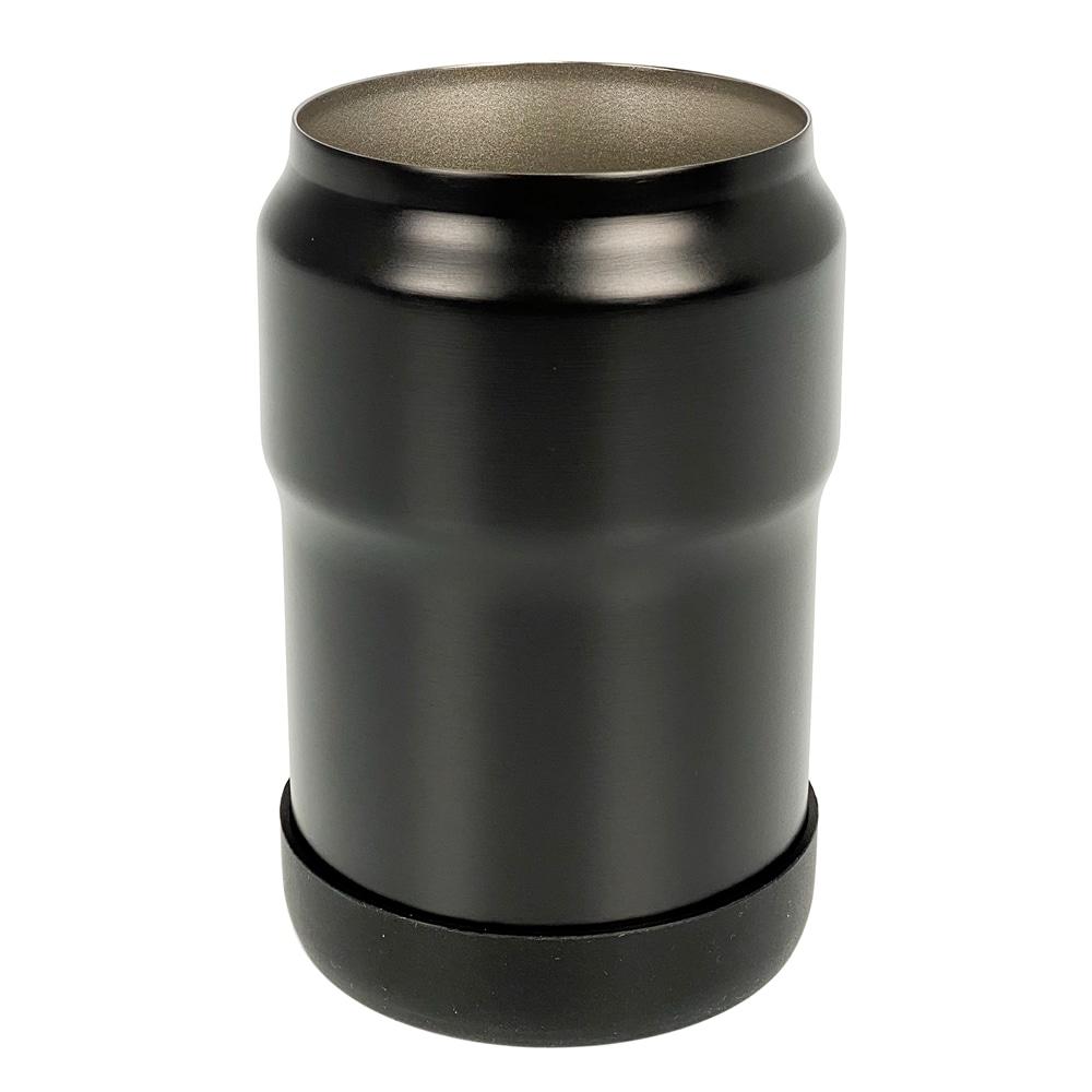 滑りにくい 缶ホルダー 350ml ブラック