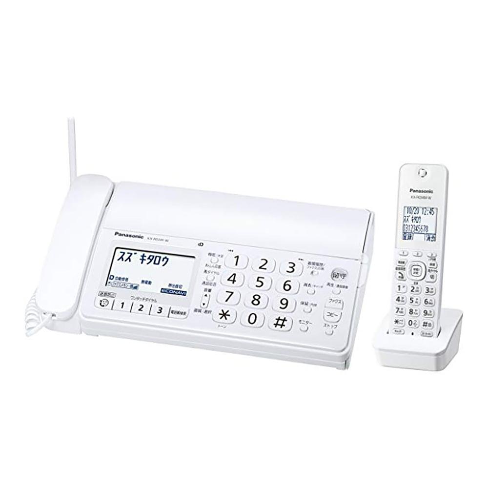 パナソニック コードレスFAX KX-PD215DL-W