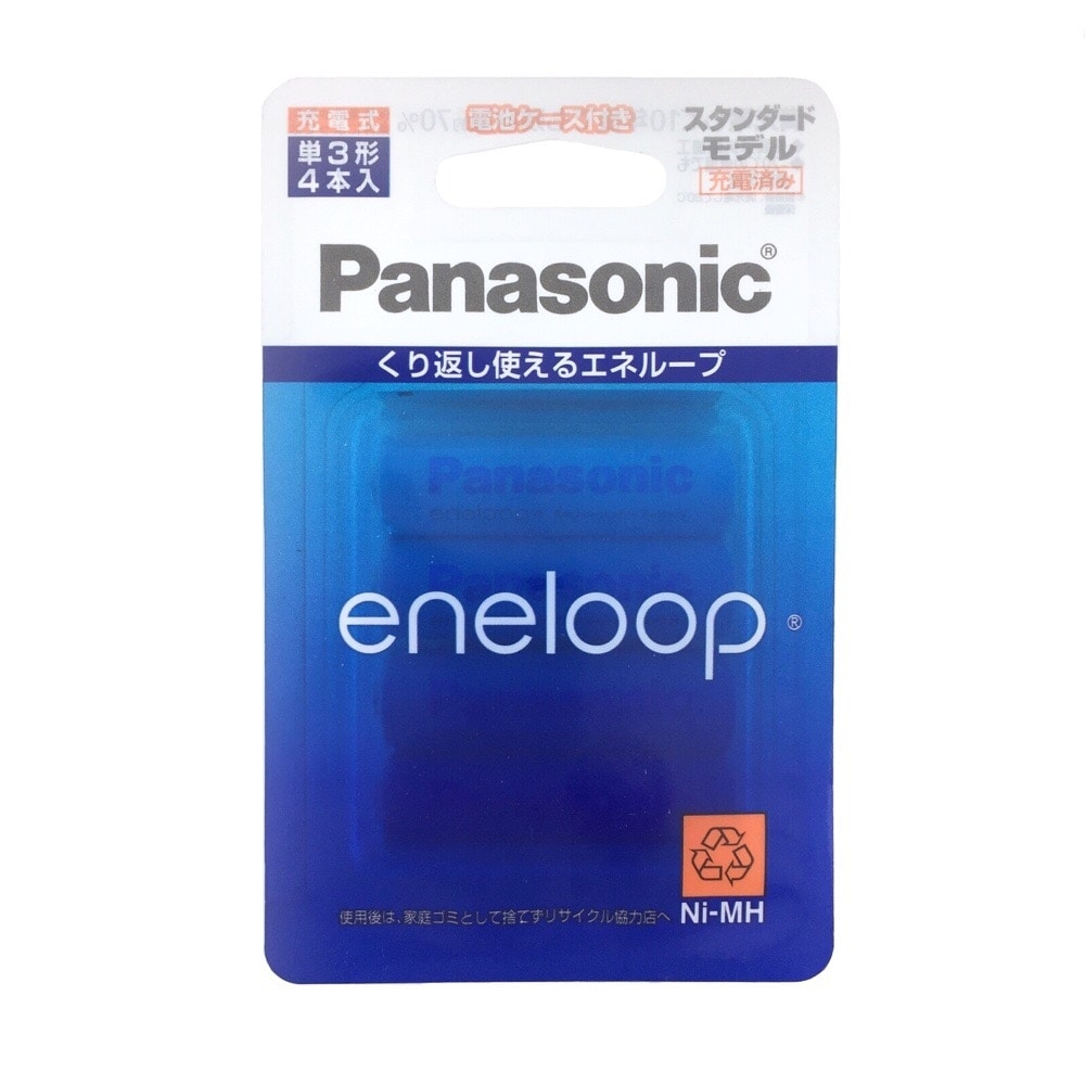 パナソニック エネループ単3形×4本 BK-3MCC/4C