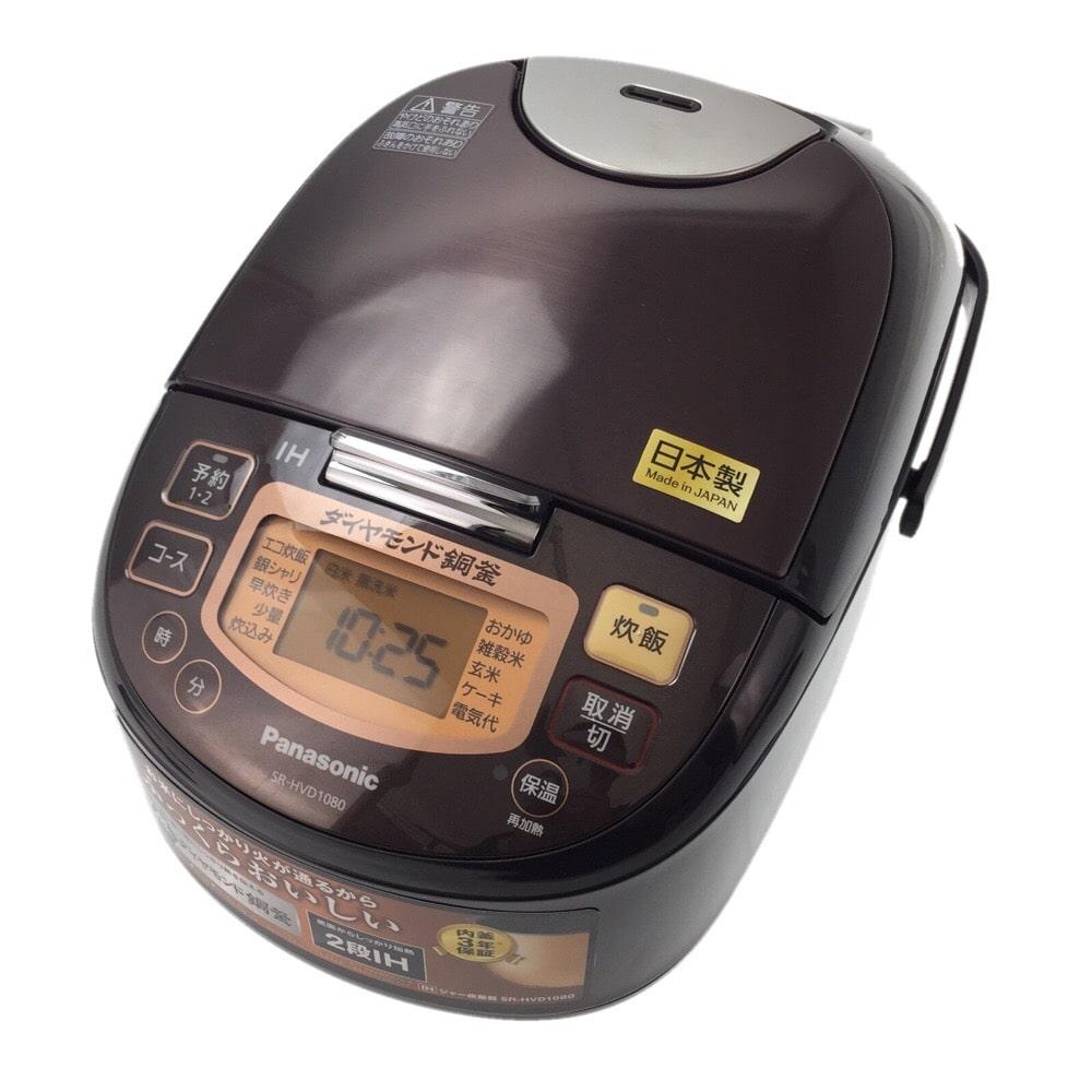 パナソニック IH炊飯器 5.5合炊き SR-HVD1080-T