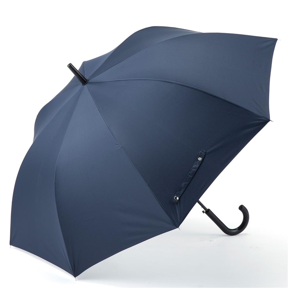 【数量限定】大きい晴雨兼用長傘 UVケア 65cm