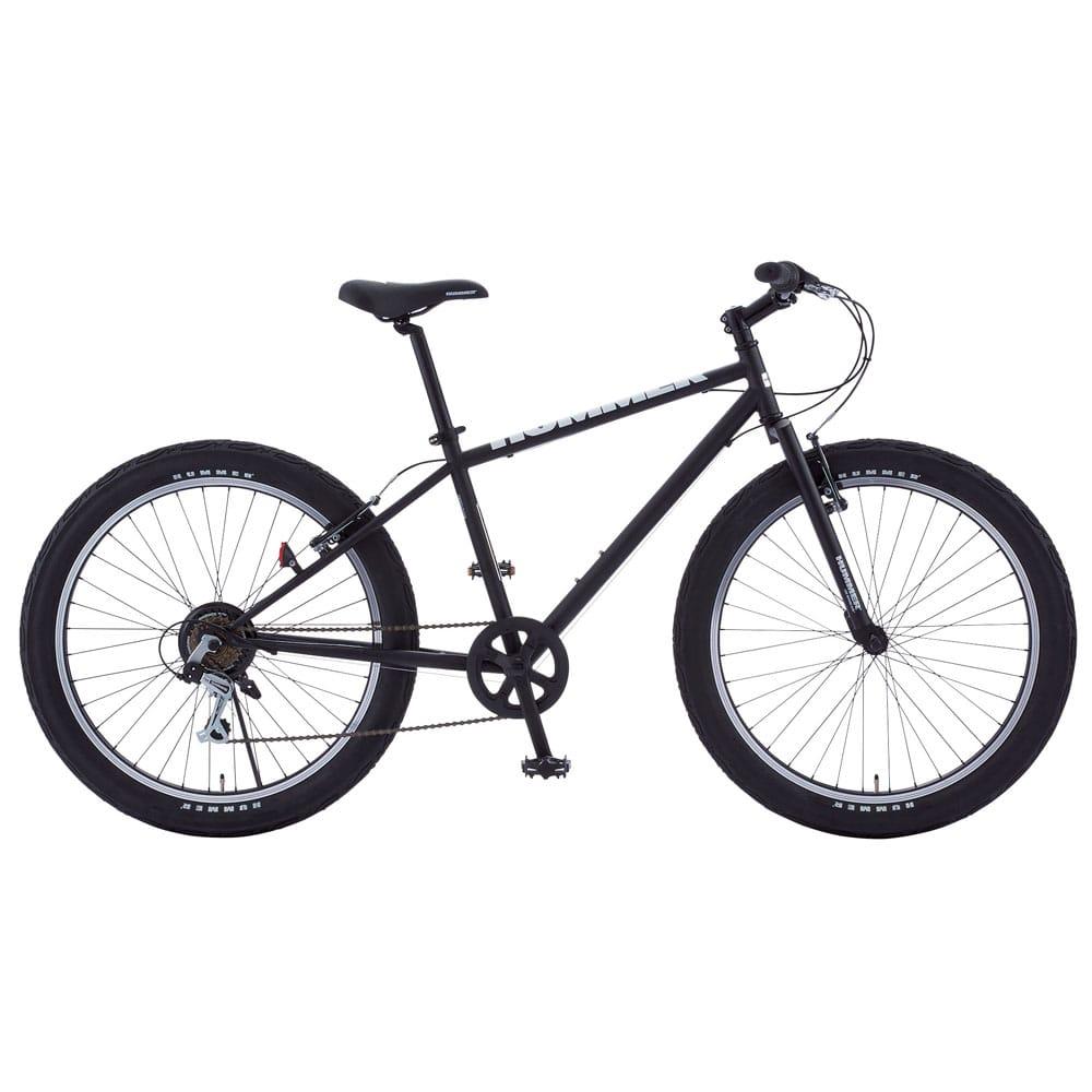 【自転車】《ハマー》マウンテンバイク TANK3.0 ブラック【別送品】