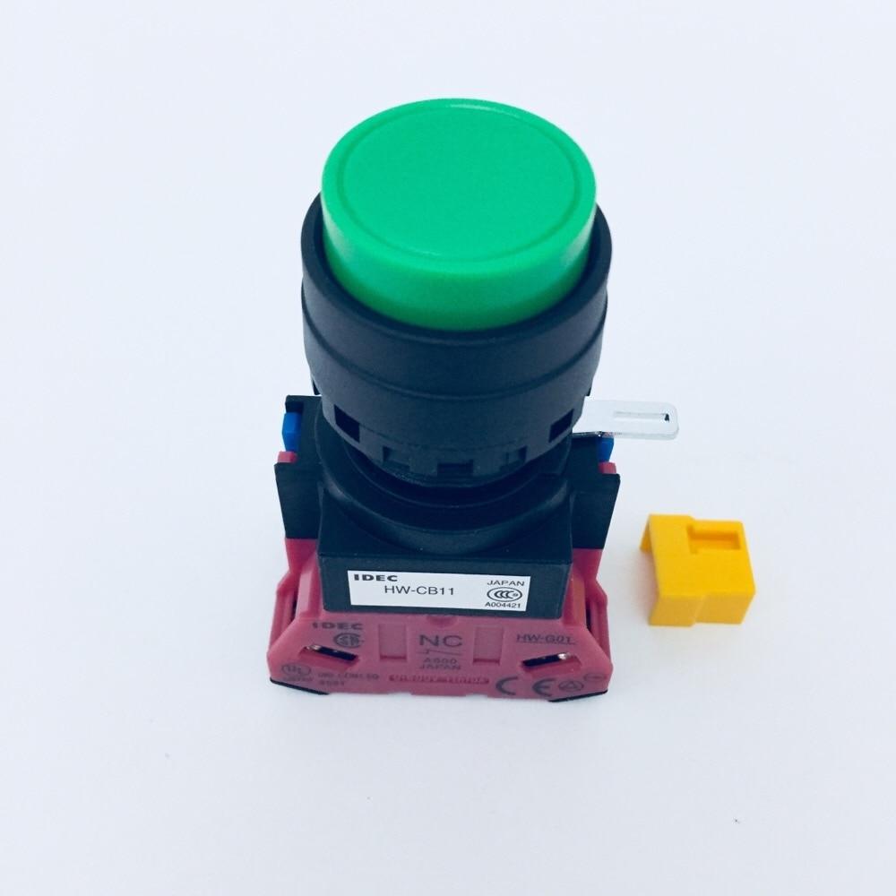 パイロットランプΦ22突形緑 HW1B-M211G