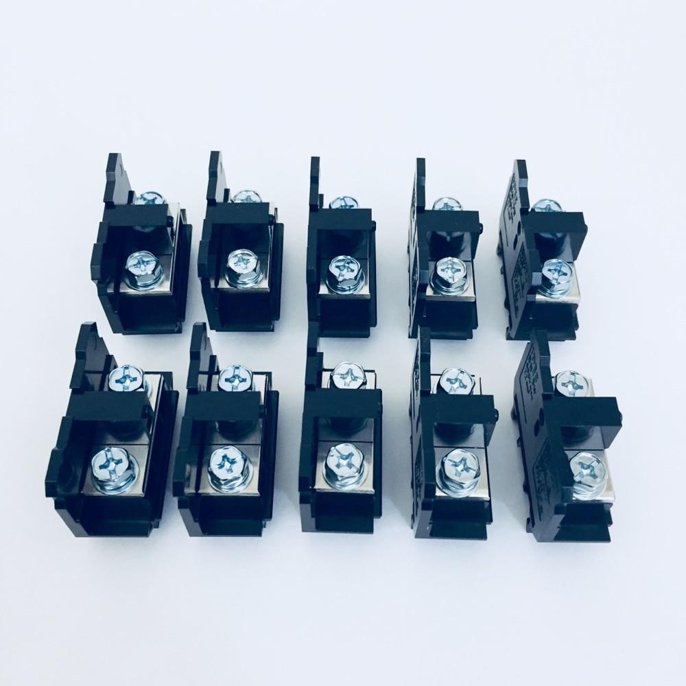 DINレール用端子台 10個売 BN75W 10