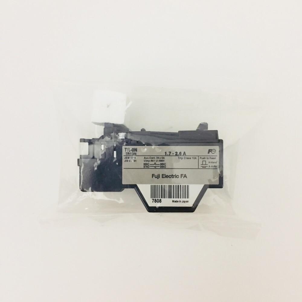 サーマルリレー3極1a1b TR-0N 1.7A