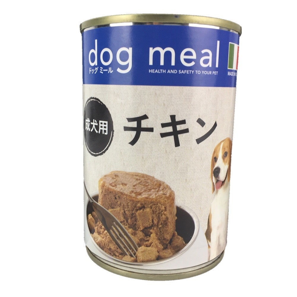 Pet's One ドッグミール缶 チキン 成犬用 400g