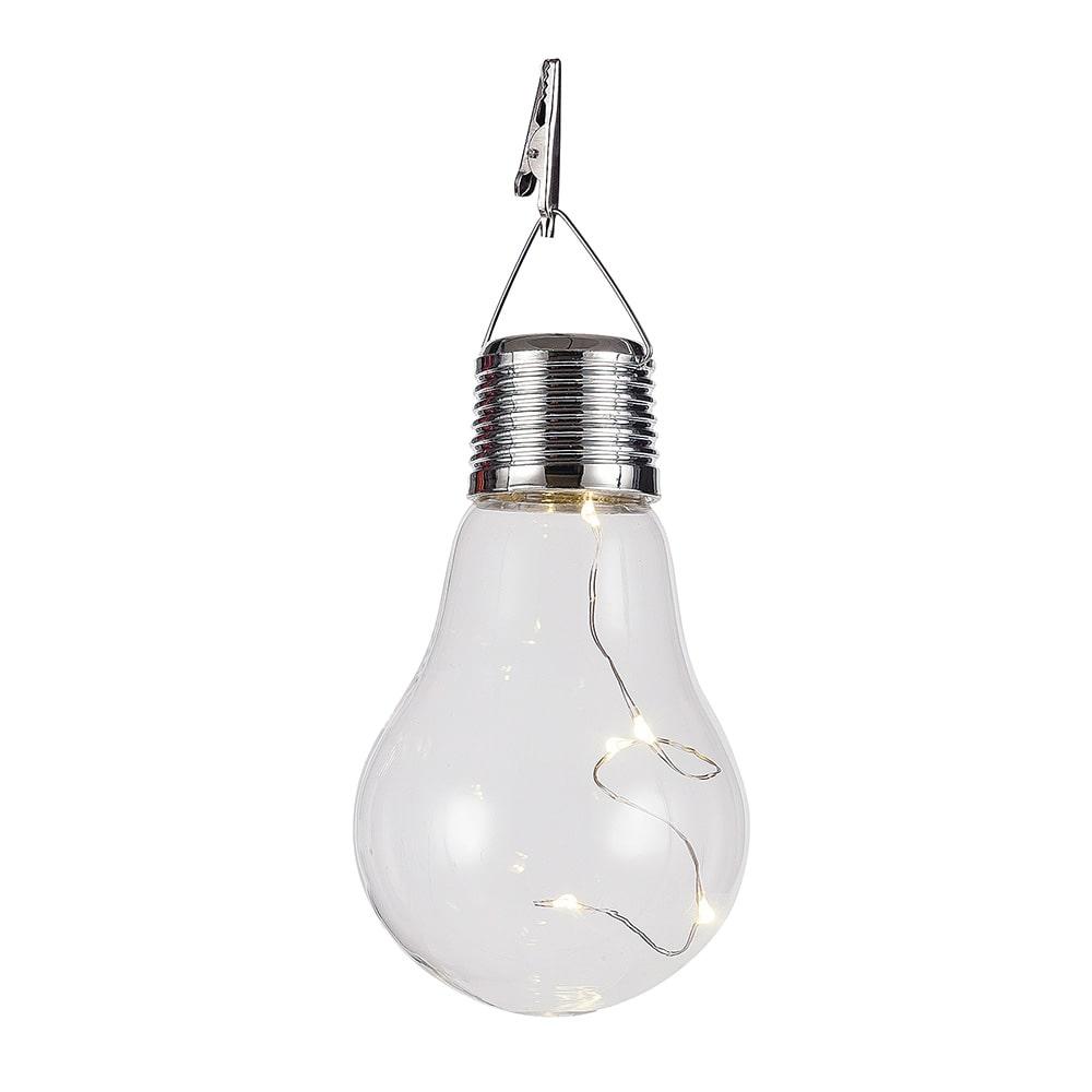 電球型ソーラーライト