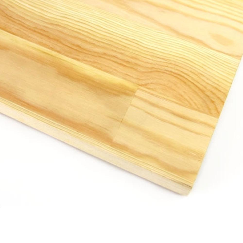 【加工可】岡元木材 赤松集成材 (約)18×910×1820mm【別送品】【要注文コメント】