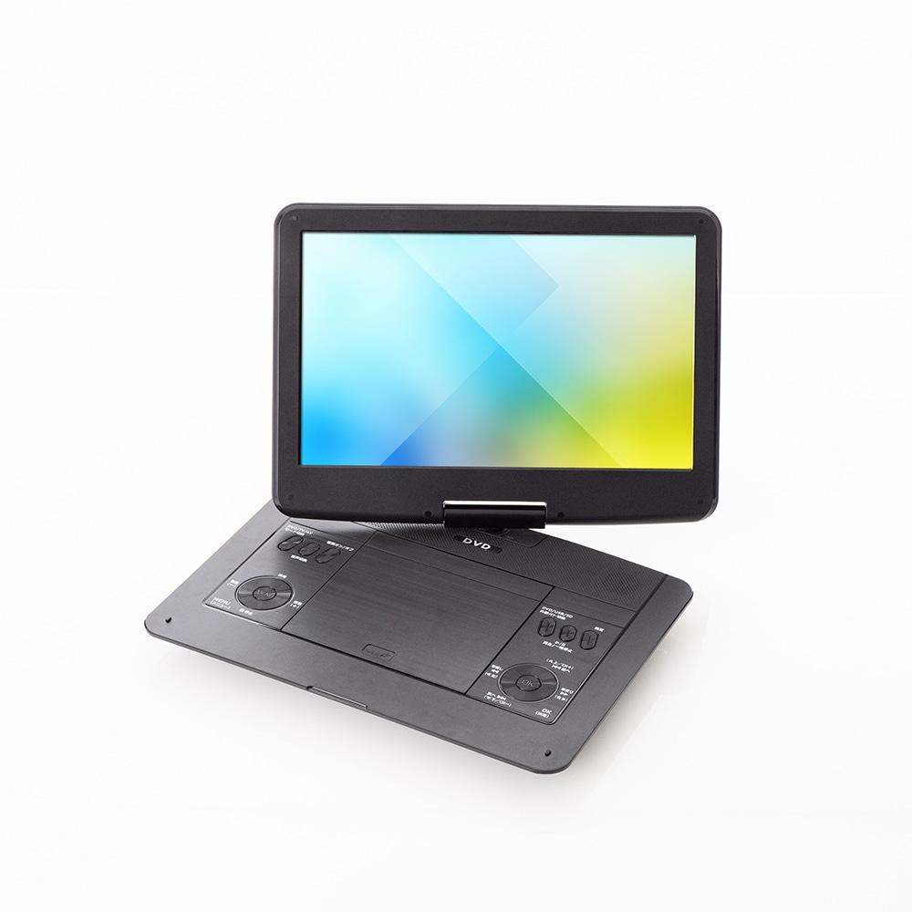 【数量限定】ベルソス 14.1インチフルセグテレビ搭載DVDプレーヤー VS‐C14Z