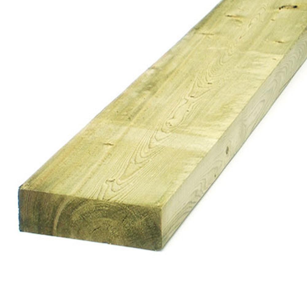 【加工可】岡元木材 特選 防腐ツーバイ材 2×6 6F(約)38×140×1830mm【別送品】【要注文コメント】