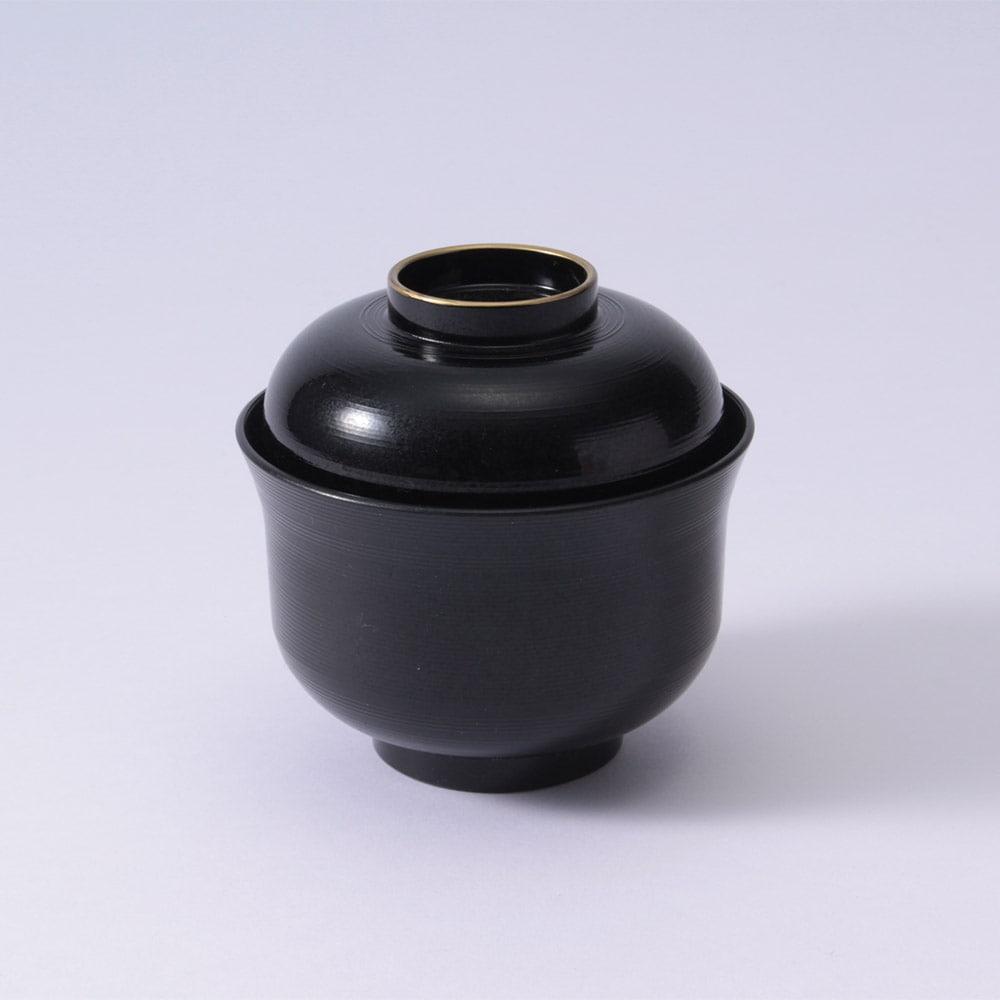 小吸椀 千筋天金(黒)