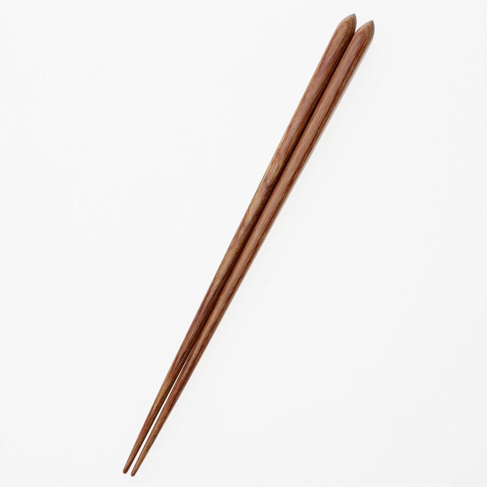 【trv】積層箸 流線 木肌