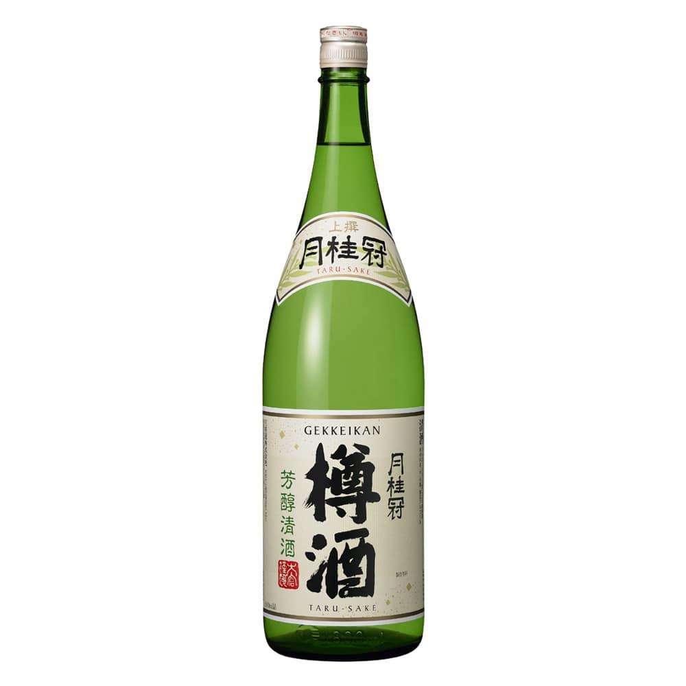 上撰 月桂冠 樽酒 1800ml【別送品】