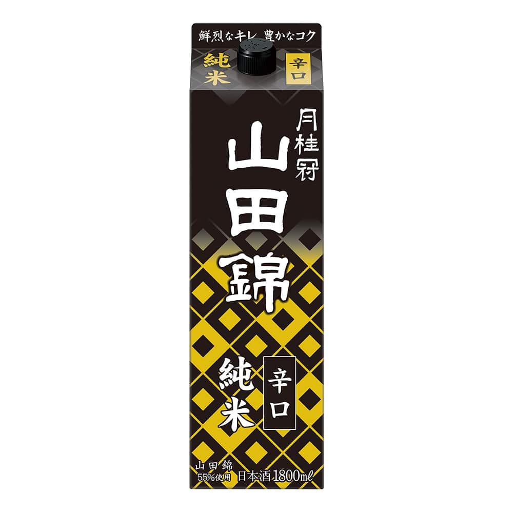 月桂冠 純米 山田錦 1800ml パック【別送品】
