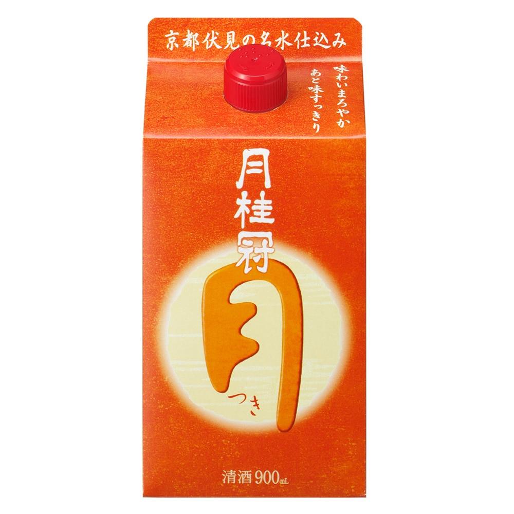 月桂冠 定番酒 つき パック  900ml【別送品】
