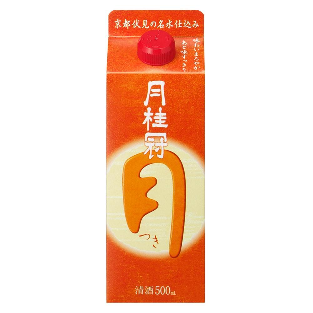 月桂冠 定番酒 つき パック 500ml【別送品】