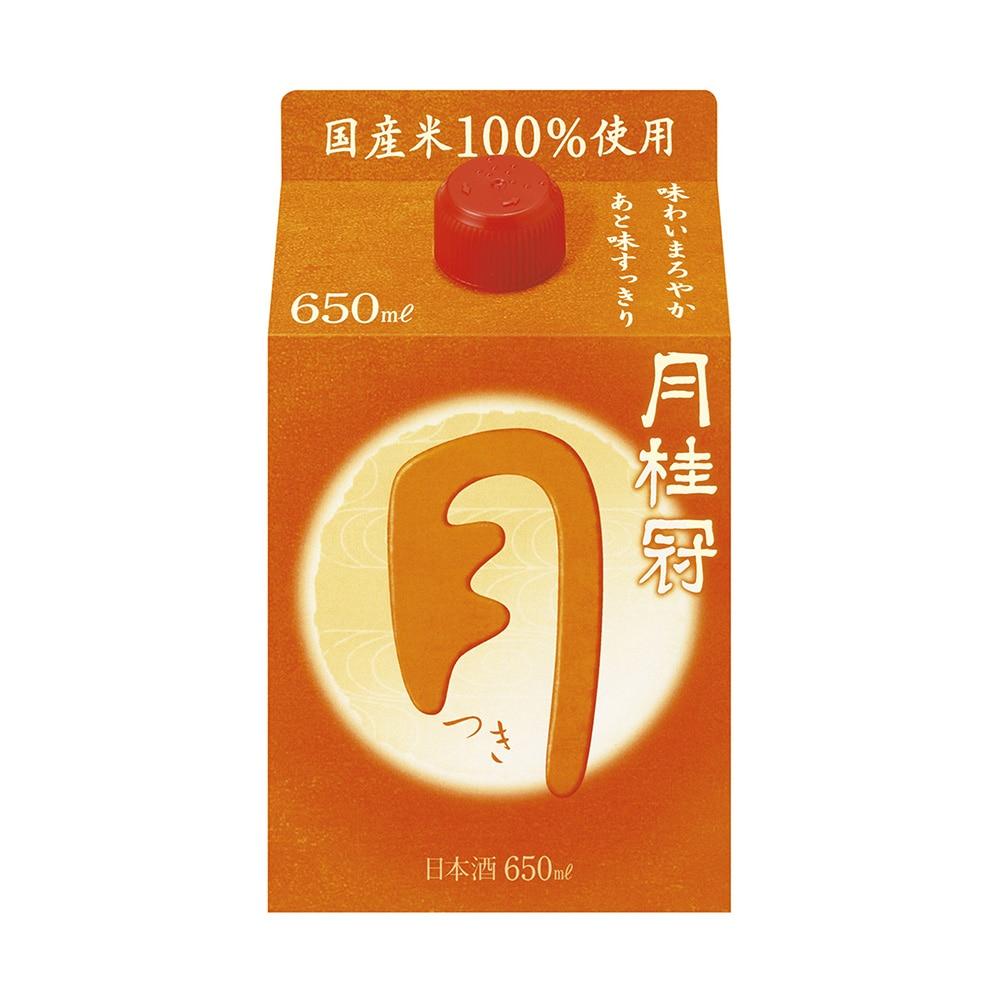 月桂冠 定番酒 つき パック 650ml【別送品】