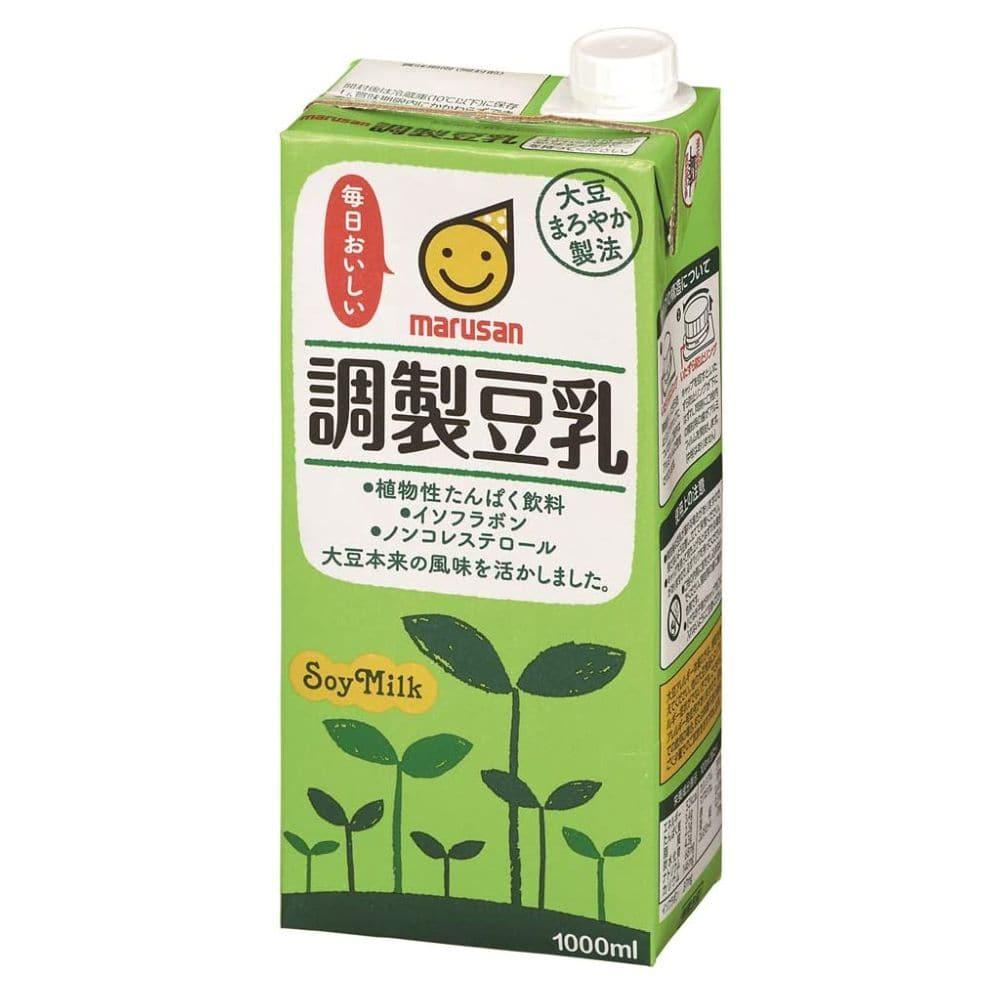 マルサンアイ 調製豆乳 1LX6