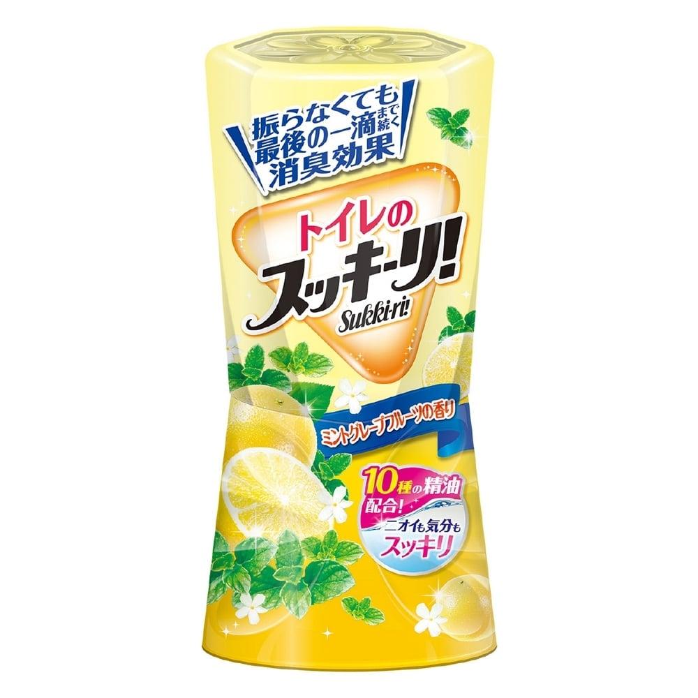 アース製薬 スッキーリ トイレのスッキーリ ミントグレープフルーツの香り 400ml [3218]