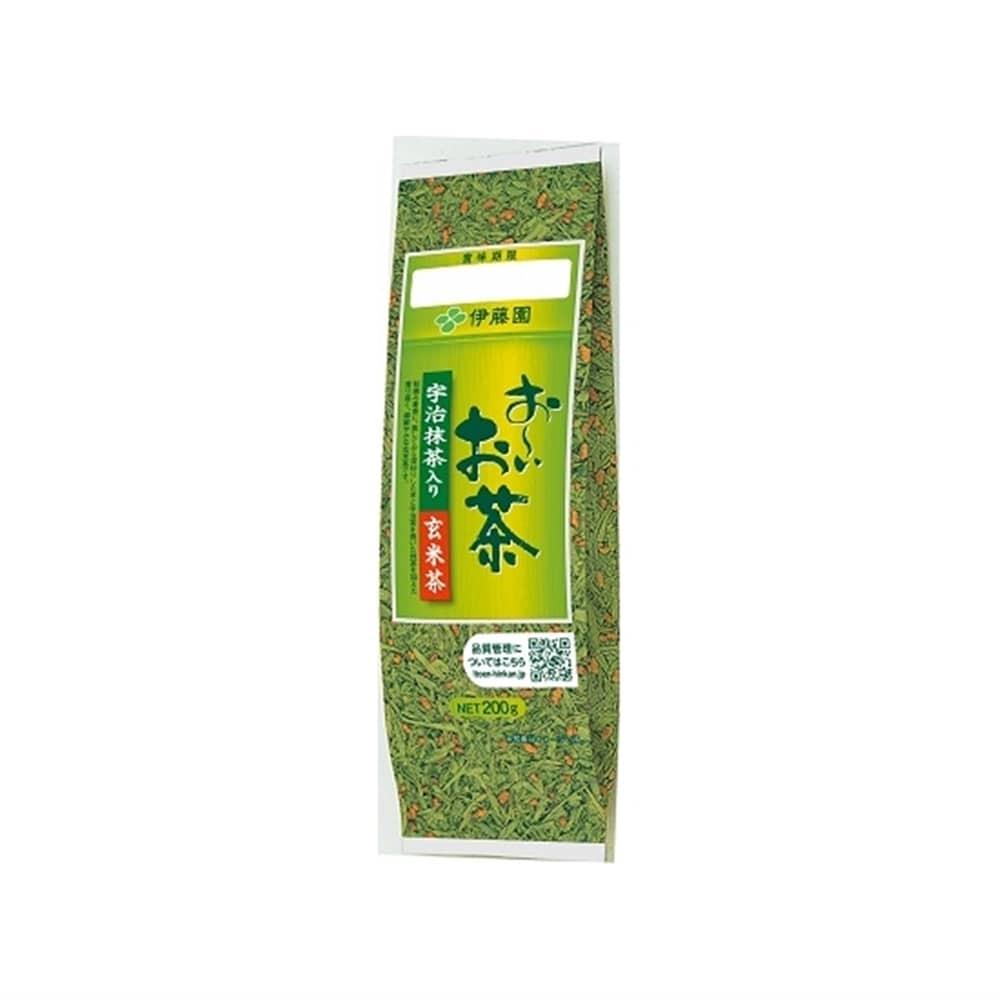 伊藤園 おーいお茶 宇治抹茶入り玄米茶 200g