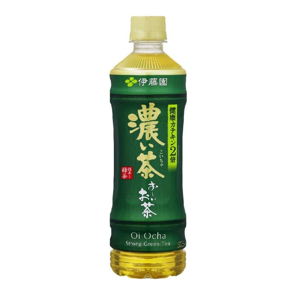 【ケース販売】伊藤園 おーいお茶 濃い茶 525ml×24本