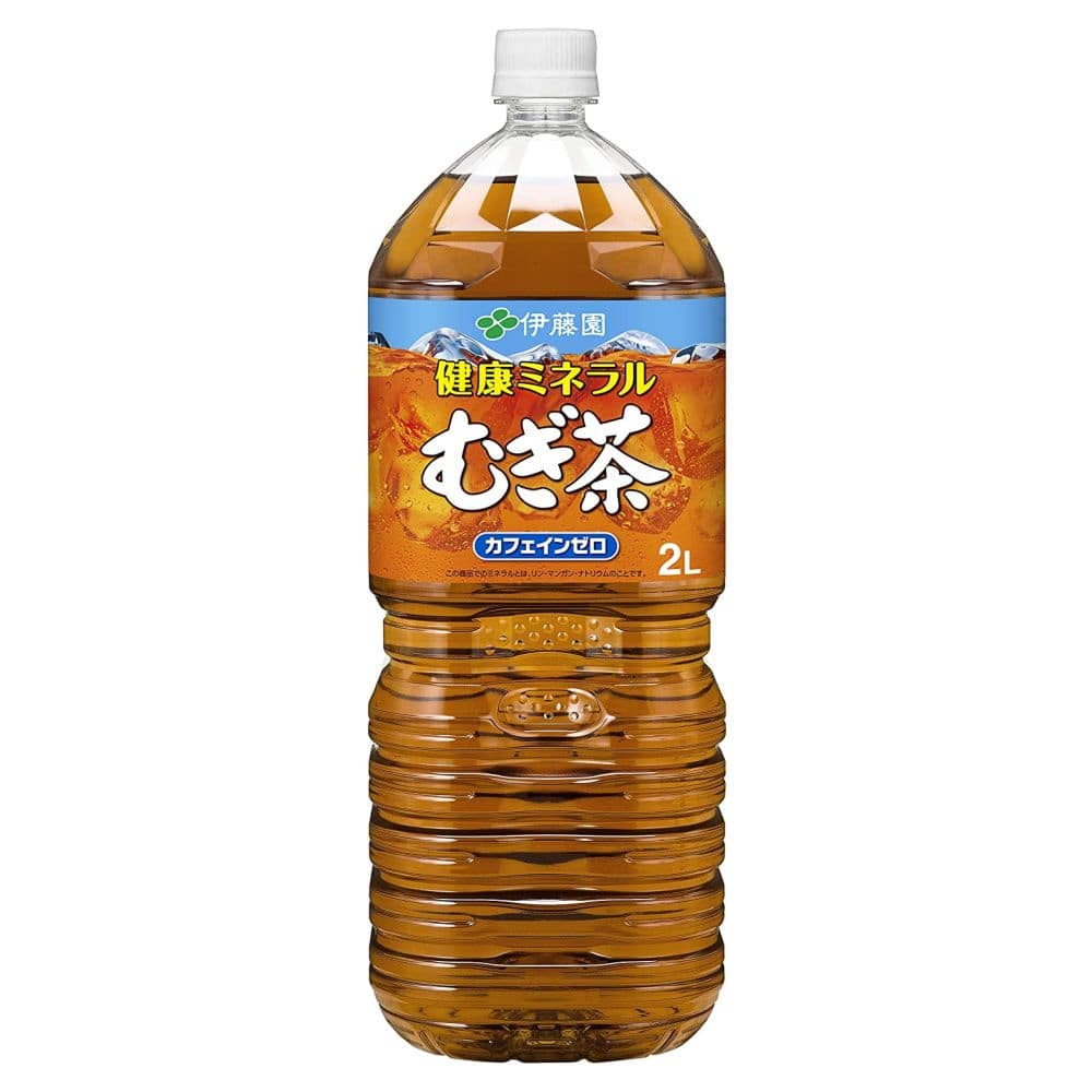 【ケース販売】伊藤園 天然ミネラル麦茶 2L×6本