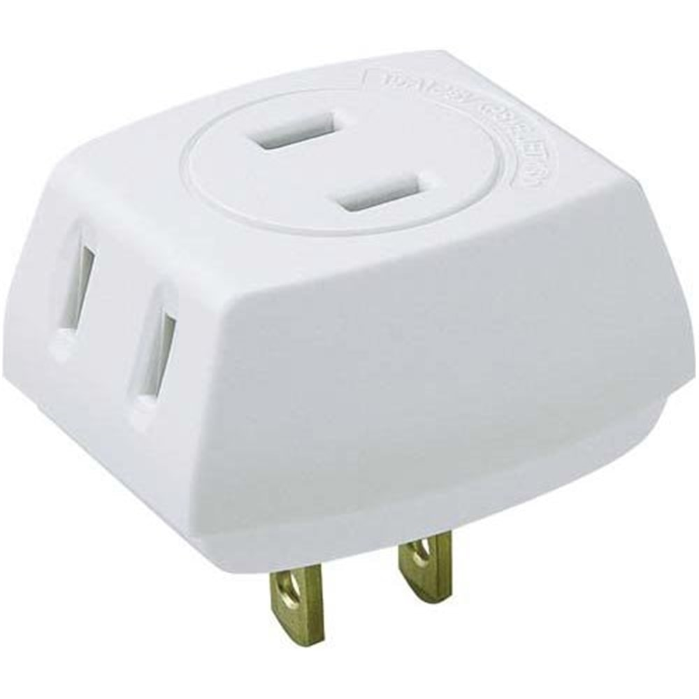 電源タップ トリプルタップ 2P式/3個口 LP-A1530W 1個