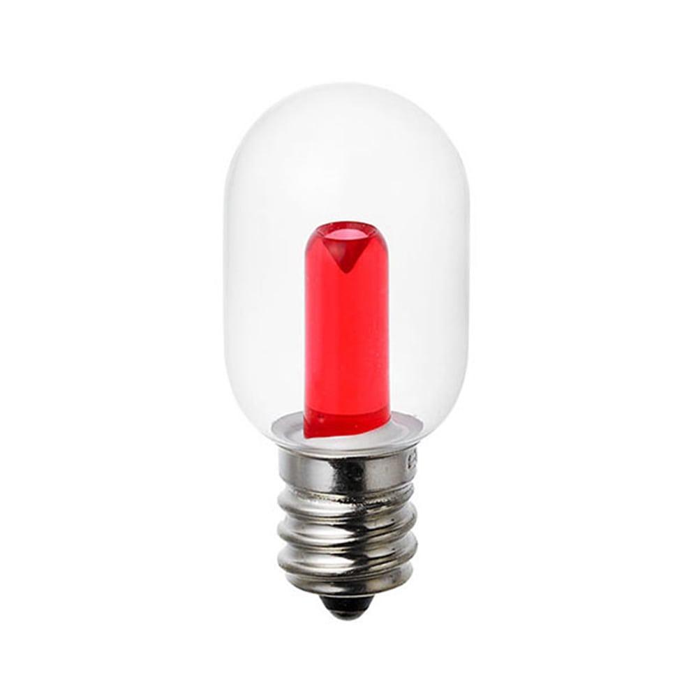 朝日電器 LEDナツメ球 E12 クリアレッド LDT1CR-GE12G107