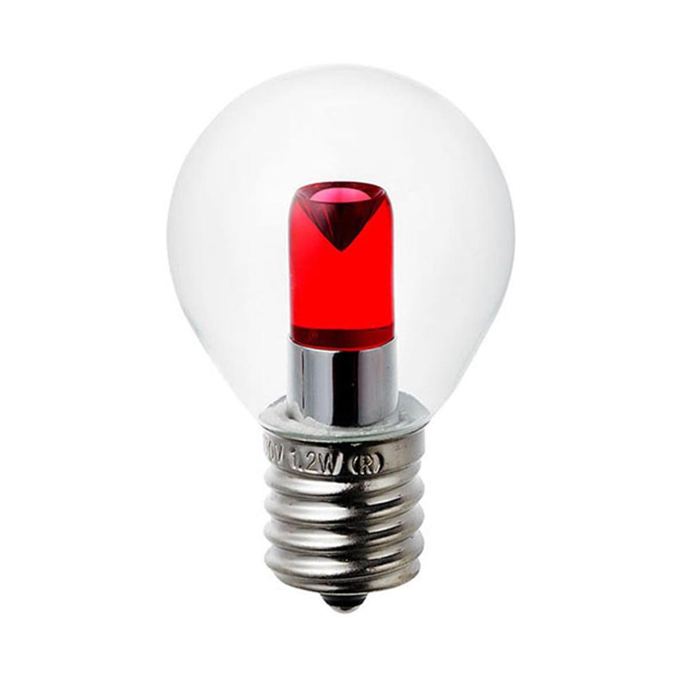 LEDカラーS形ミニ球 LDA1CR-17G457