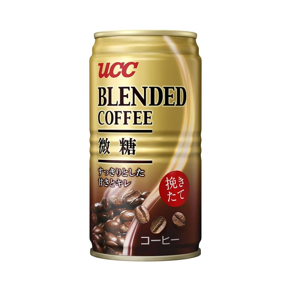 ブレンドコーヒー 微糖 缶 185X30