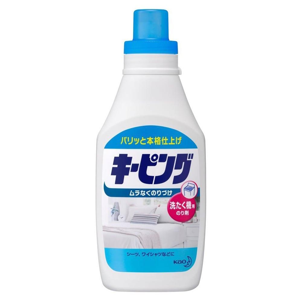 花王 キーピング 洗たく機用のり剤 600ml [3322]