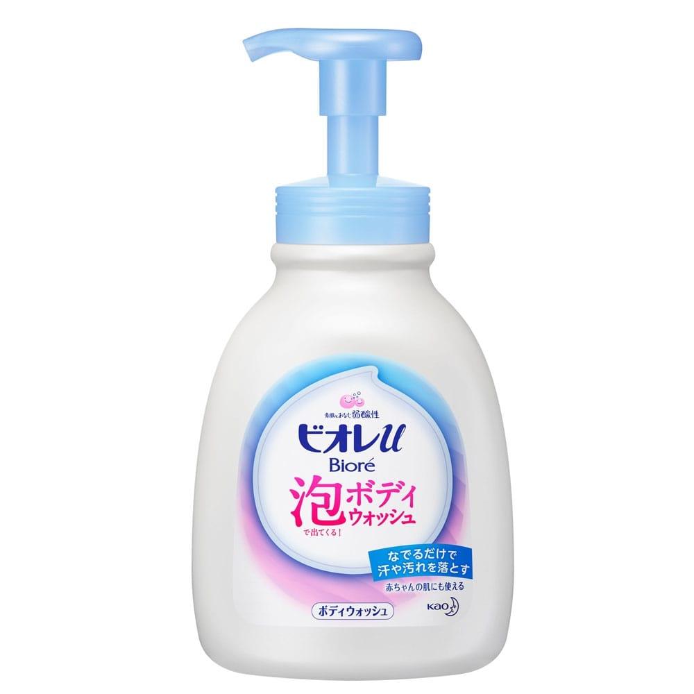 花王 ビオレu 泡で出てくるボディウォッシュ やさしいフレッシュフローラルの香り(微香性) 本体 600ml